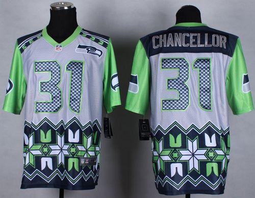 Hot NFL Men's Nike Seattle Seahawks #50 K.J. Wright Stitched Green Olive