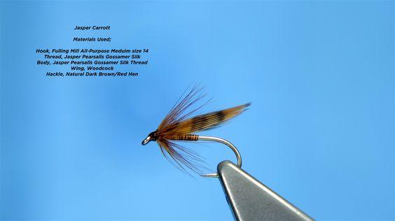 Tying the Jasper Carrott Soft Hackle/Wet Fly by Davie McPhail