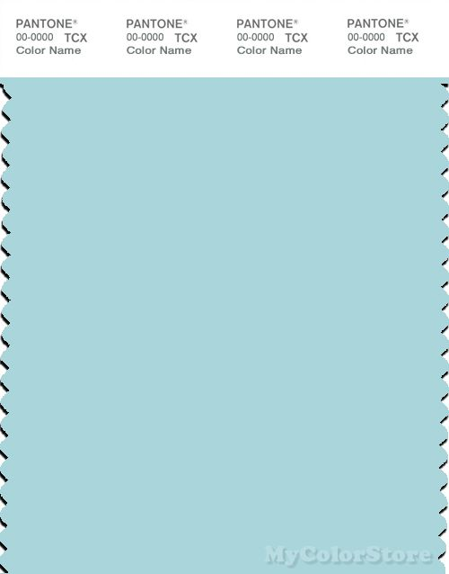 Pantone Smart 12 4608 Tcx Color Swatch Card Clearwater Clear Water Pantone Color Swatch
