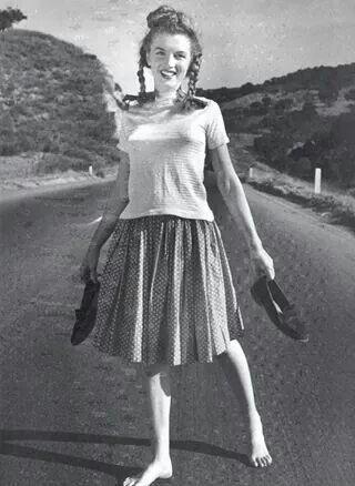 Marilyn in 1945