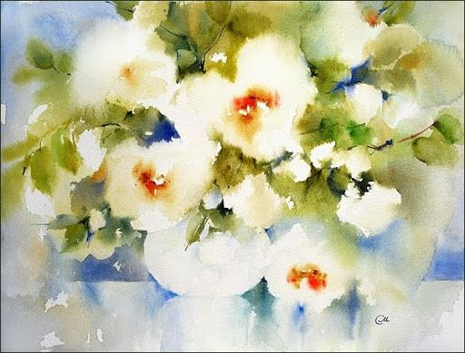 Watercolors by Maria Stezhko (Акварели Марии Стежко): In the morning light