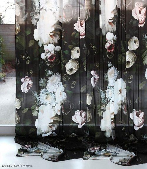 Uitgesproken bloemenprints
