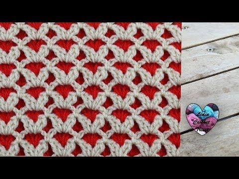 Point Reversible Au Crochet Pour Couverture Youtube