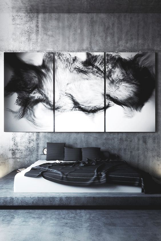WHAT THE HELL is that picture? Bald head? Eyebrows? Cat on its back? Hair growth after surgery?  WHAT person would want that on their wall? lol