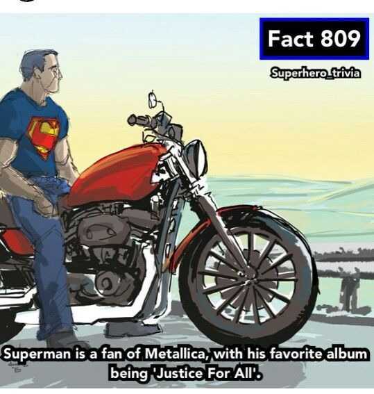 Supermen does metal