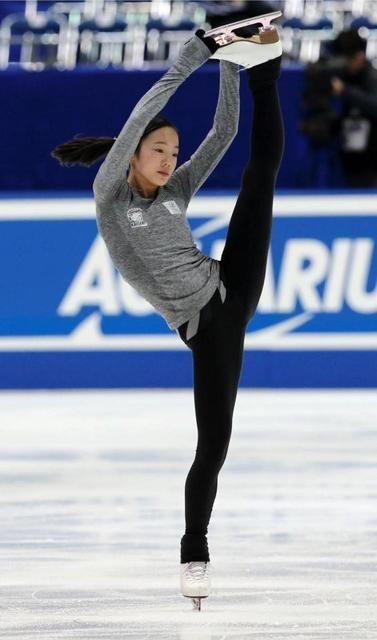 本田真凜の練習