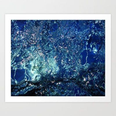 Water World Art Print by Clara Ungaretti - $12.48