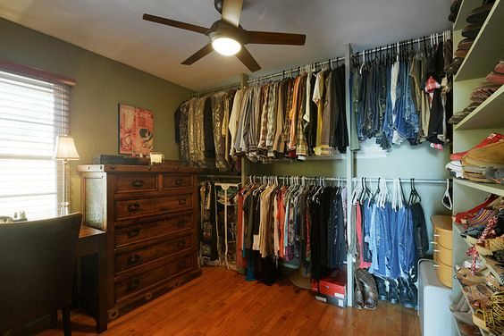 2nd Bedroom Converted To Large Walk In Closet Pristine View Property Pinterest Walk In
