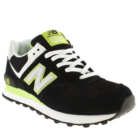 new balance 574 green suede heels
