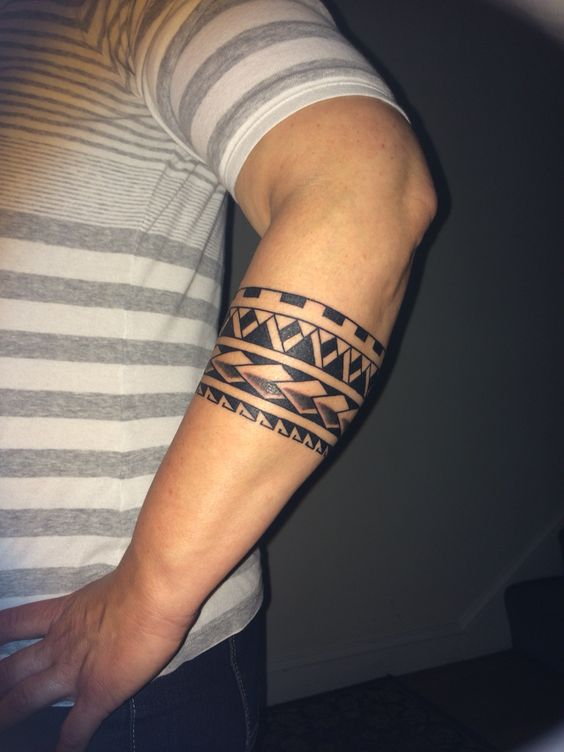polynesian arm band tribal pinterest tatoo maori tattoos and tattoo ideas. Black Bedroom Furniture Sets. Home Design Ideas