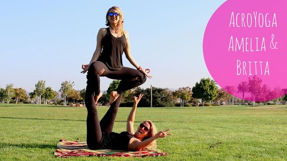 I love the @stokedyogi!! This video is so cute!  AcroYoga | Stoked Yogi | Amelia & Britta