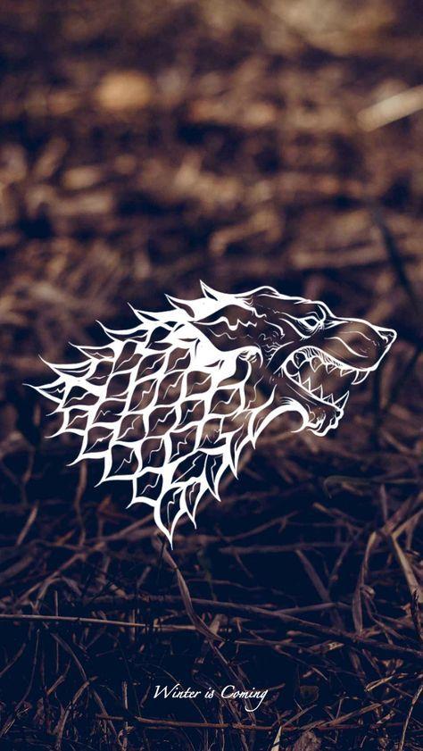 Game Of Thrones Wallpaper House Sigil Stark By Emmimania Deviantart Com On Deviant Arte Game Of Thrones Imagens Aleatorias Papel De Parede Para Telefone