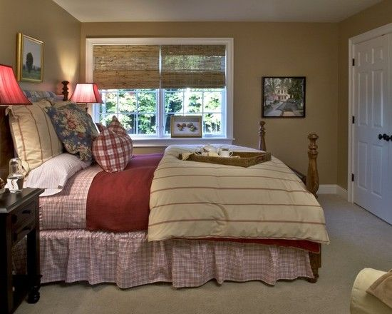 country bedrooms cottages and colors on pinterest