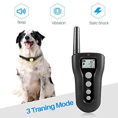 Dog Training Collar 1200ft Remote Dog Shock Collar Dog Shock