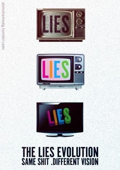La evolución de las mentiras.