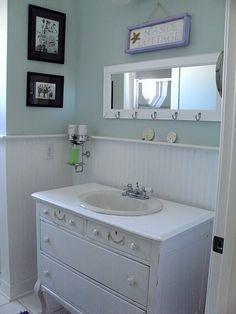 beach cottage bathrooms - Google Search