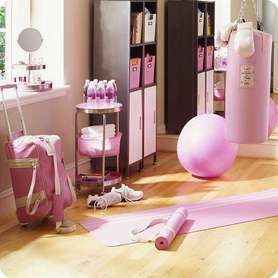 """Dream workout room! 