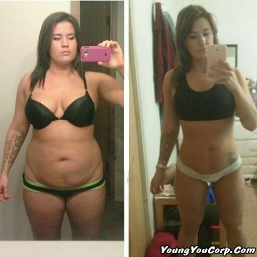 Before and After Weightloss - melt away your stubborn fat ...