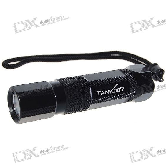 Tank007 M20 140-Lumen 5-Mode LED Flashlight w/ Cree Q2-WC / Magnetic Tail (1*AA/1*14500). Model: M20 - 1-LED Q2 WC emitter - Hard anodized - Glass lens, smooth reflector - Powered by 1 x AA / 14500 battery (not included) - Working voltage: 0.9~4.5V - Strap included, without clip - Color: Black - Tail with magnetic - Middle twisty switch - Brightness: 140lm - Modes arrangement: 5-mode - Light color: White. Tags: #Lights #Lighting #Flashlights #LED #Flashlights #AA #Flashlights
