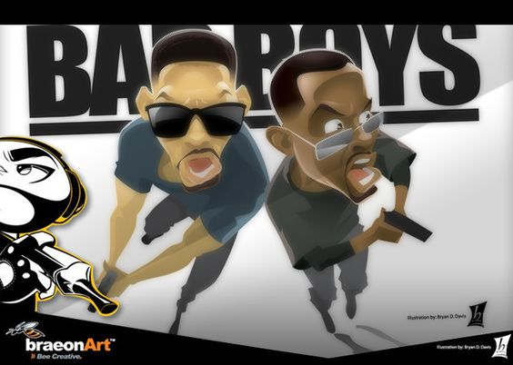bad boys starring will smith and martin lawrence by