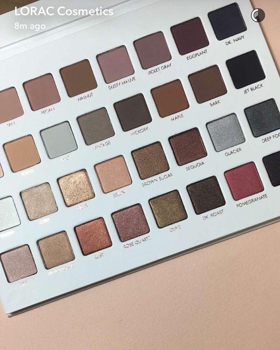 lorac mega pro 3 eyeshadow palette