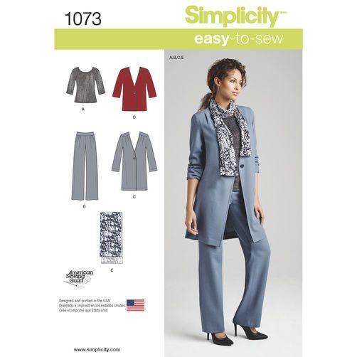 Resultado de imagen de simplicity patterns 1073
