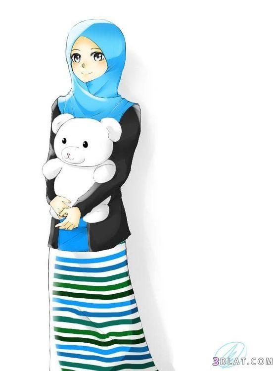 احدث صور انمى محجبات 2021 خلفيات بنات انمي محجبات انمي محجبات فيس بوك Islamic Cartoon Anime Muslim Anime Muslimah