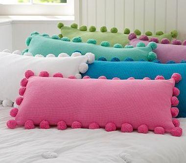 almohadones pompones - Buscar con Google