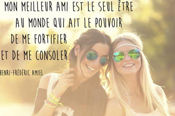 Citation meilleure amie de Henri-Frédéric Amiel