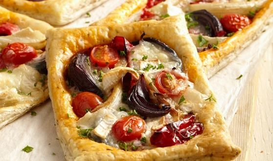 ... roasted vegetables vegetables goat cheese cheese puff tarts goats tart