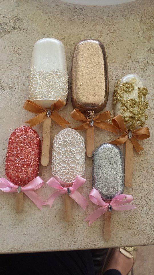 Hijos and chocolates on pinterest for Paletas de cocina decoradas
