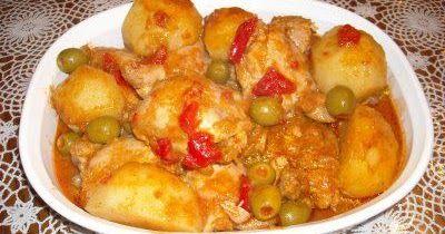 Fricase de pollo
