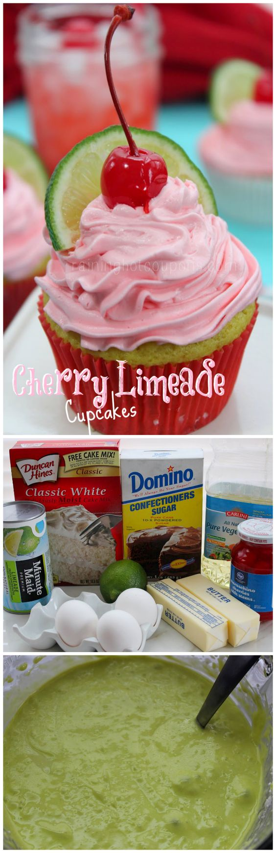 Cherry Limeade  - amazing!  I added 1/2 tsp of cherry extract to the icing.  Wonderful!