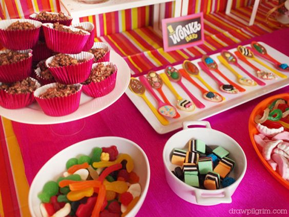 Willy Wonka themed birthday. Amazing.