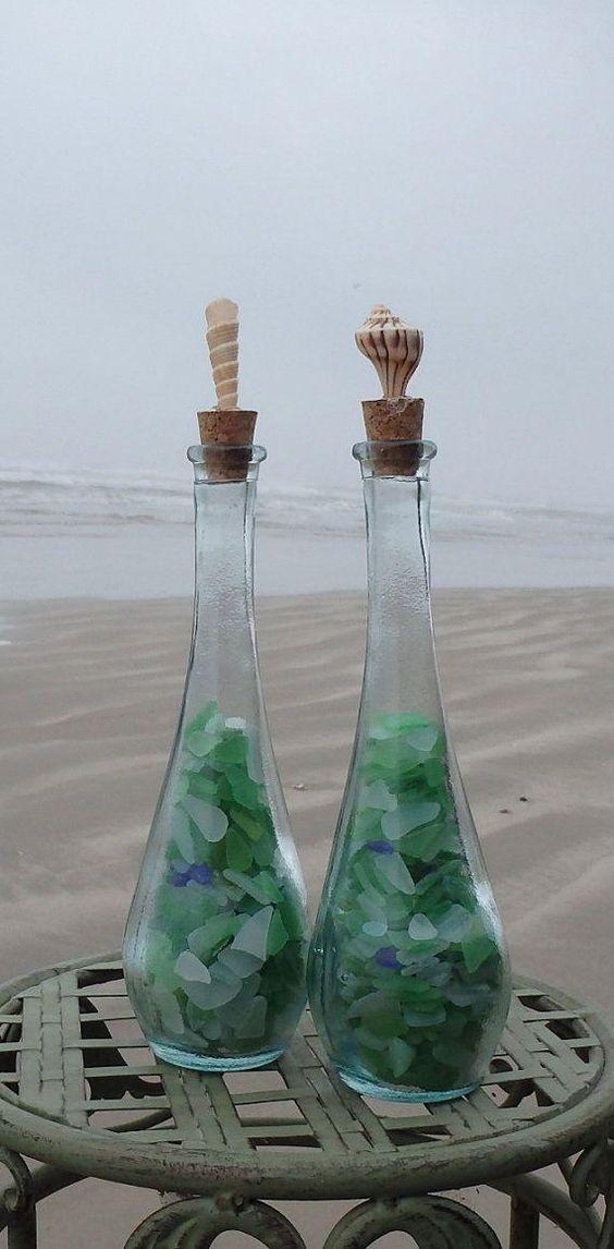 ハワイの砂浜とビーチグラス