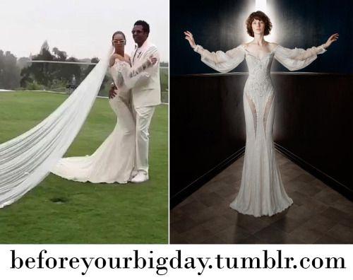 Beyonce S Galia Lahav Wedding Vow Renewal Dress Vow Renewal Dress Bohemian Wedding Gown Fall Wedding Gowns