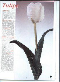 Crochê Flores - Tanagra Grankin - Álbuns da web do Picasa