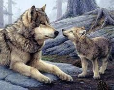 Image Result For Mother Wolf And Cubs Tattoo With Images Animals Baby Animals Beautiful Wolves