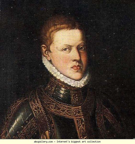 Sofonisba Anguissola. Portrait of Don Sebastian of Portugal. Detail.