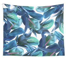 Rubber Plant #redbubble #lifestyle Wall Tapestry