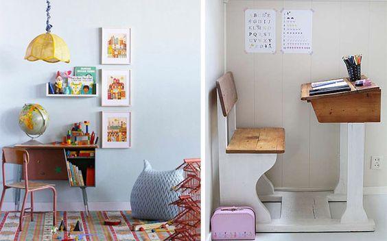 Ideas para decorar el área de trabajo infantil
