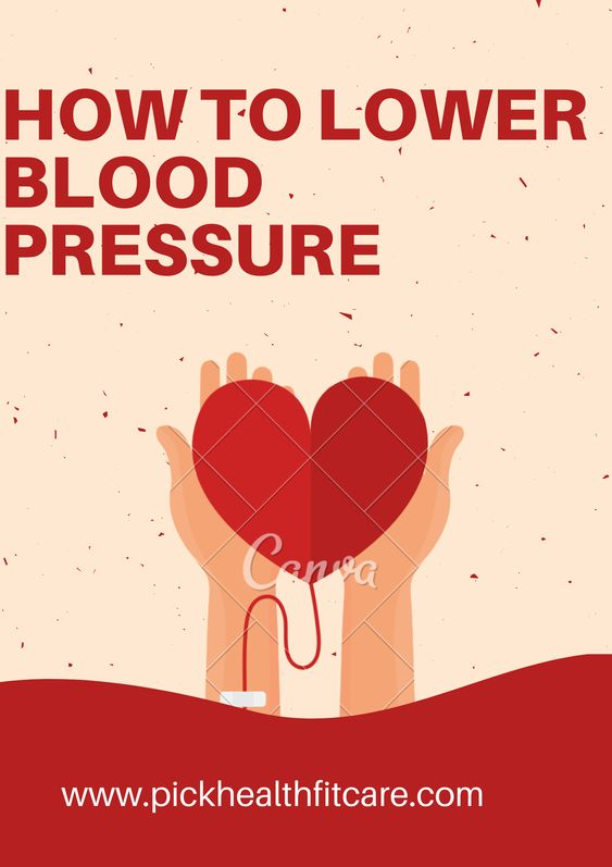 high blood pressure - how to lower blood pressure