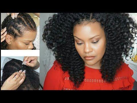 Crochetbraids Easy Quick Crochet Braids Alopecia Fine Hair Thinning Hair Weave Net Youtube Weave Hairstyles Braided Hairstyles Easy Fine Hair