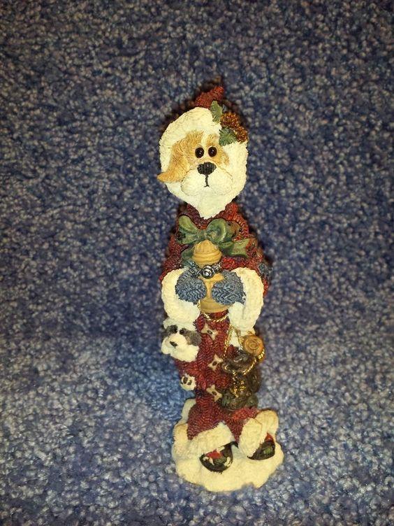 Boyds Bears & Friends Folkstone Collection Bernie IgotwatIwanted #2873