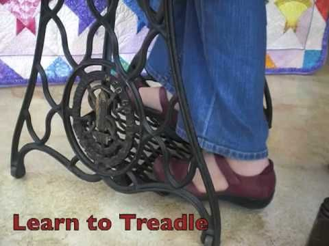 #Homestead #OffGrid - Learn how to clean a treadle machine and sew on one
