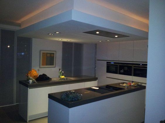 Verlaagd plafond keuken google zoeken keuken pinterest google kitchen designs and - Design keuken plafond ...