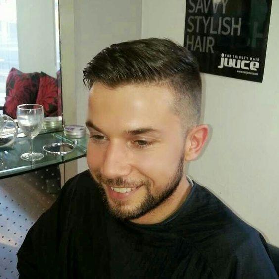 High fade gents haircut