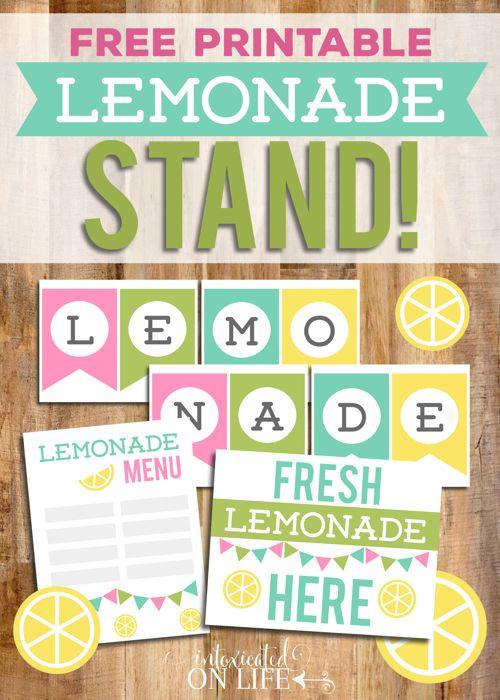 Homemade Lemonade with a Sugar-Free Option | Recipe ... Lemonade Sign Kids