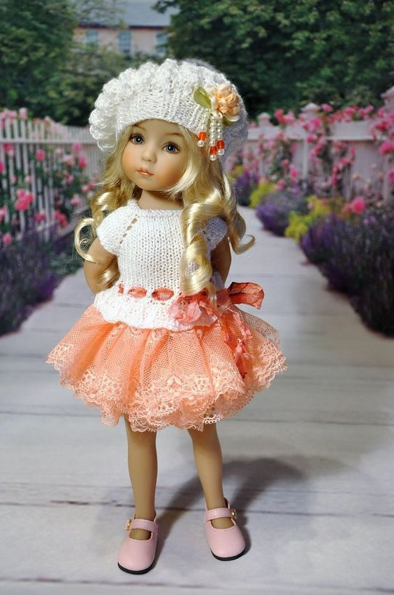 "OOAK OUTFIT FOR DOLLS Little Darlings Effner 13"":"