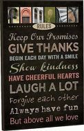"""P. Graham Dunn, """"FAMILY RULES"""" Mounted Wall Art Print 18 x 12""""  Picture ART0132"""